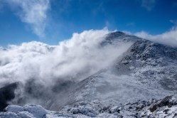 Vue du mont Adams