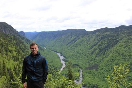 Point de vue du sentier le Scotora au Parc National de la Jacques-Cartier