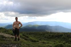 Sommet du Mont Richardson, Parc National de la Gaspésie.