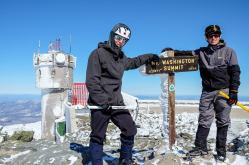 Mont Washington : altitude 1917m.