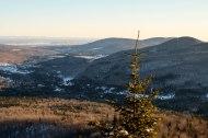 Vue à partir du point de vue de la Vallée (celui en bas)