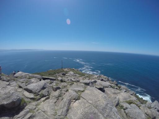 Cabo Fisterra, la fin de la terre.