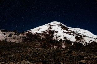 Le Chimborazo de nuit