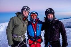 Alberto notre guide au sommet du Chimborazo, 6310m