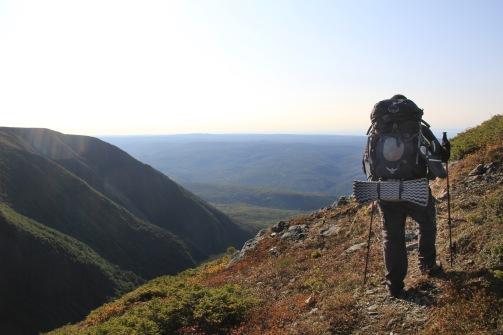 Retour sur le Mont Fortin. Crédit photo: Jonathan B.
