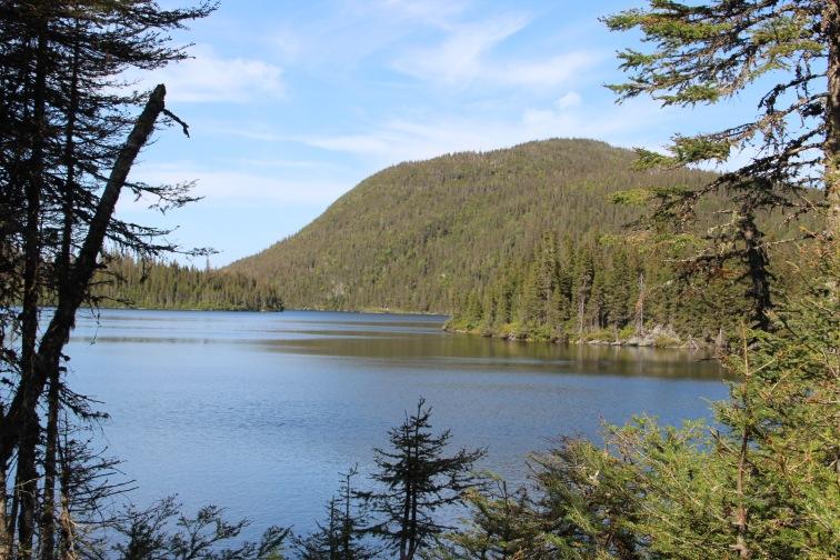Vue sur le Lac Côté.