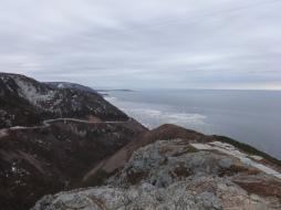 Vue finale de la Skyline Trail, Parc national des Hautes-Terres-du-Cap-Breton