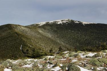Vue à partir du sommet Sud sur Moosilauke