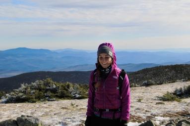 Rosalie sur le sommet Est.
