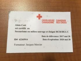 Certification Alain Côté