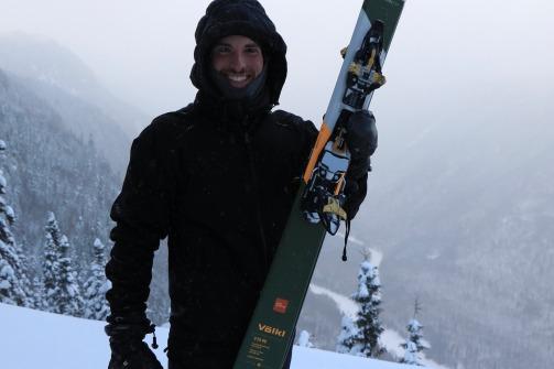 Sommet du mont Andante - Crédit photo: Jonathan Bergeron